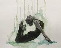 Dibujos libres bailarinas