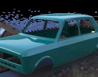 Modelado Automovil Fiat 128