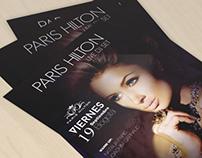 Flyer, PARIS HILTON - LIVE DJ SET.