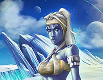 Star Wars Character Design (Fan Art) by GU