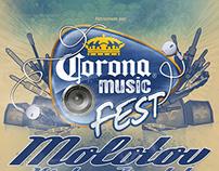 Poster for Corona Music Fest 2014