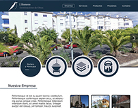 Construction Company´s Web Design