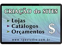 Criação de sites, Lojas, Catálogos e outros