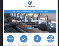 Layout Site Alvomax