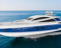 Yacht  Modeling / Modelagem 3D de Yacht