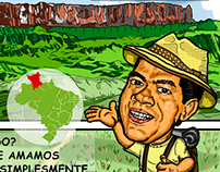 Desenho / Caricatura Monte Roraima