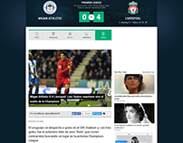 Crónica de fútbol inglés en Goal.com