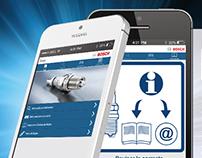 Campaña Lanzamiento App Bujías Bosch para Clientes