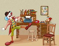 The clown writer