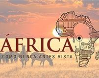Logotipo África como nunca antes vista