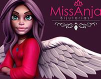 Mascot Miss Anja