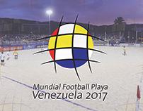 Mundial football playa Venezuela 2017
