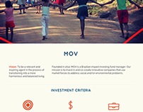 Mov Investimentos Website