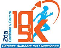 Genesis: Organization event Caminata 5K y carrera 10K
