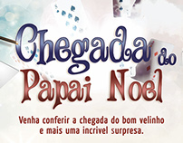 Chegada do Papai Noel Mauá Plaza Shopping