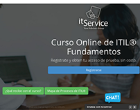 Landing Page for cursositil.com