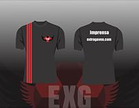 Modelo camisa Extragavea.com