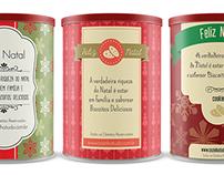 Rótulo para latas de biscoito