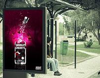 Absolut Vodka Cherrys - Advertising