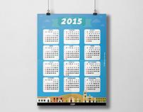 CORO PATRIMONIAL; Calendario 2015