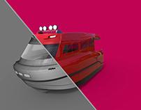 rescue boat design
