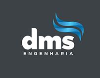 DMS Engenharia - Criação de logotipo