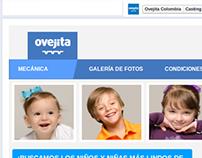 App Casting - Facebook - Ovejita Colombia