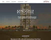 Hotsite Residencial Demoiselle