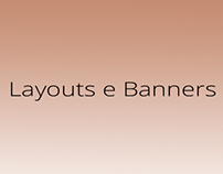 Banners e Layouts e-commerce