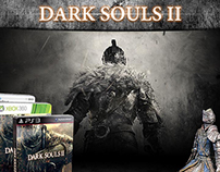 Dark Souls II Landing Page