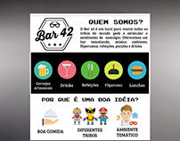 Banner Explicativo - Bar 42