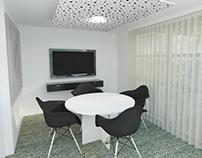 Modelado 3D para anteproyecto oficinas. 4R Soluciones