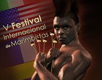Cartel V Festival Internacional de Marimbistas