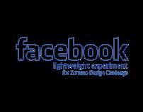 Facebook : A lightweight experiment