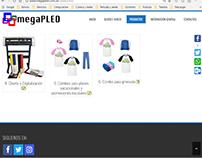 MEGAPLED Web Site