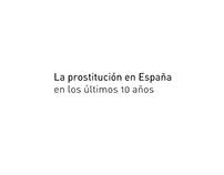 La prostitución en España