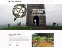Sitio web Viaje a Ávalon
