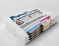 Jornal Popular - Diagramação
