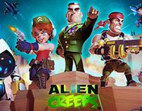 Alien Creeps promotional video