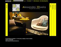 Alessandro Oliveira Designer de Interiores (Website)