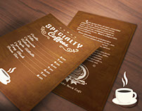 Cardápio Funny Feelings - Specialty Coffee (2015)
