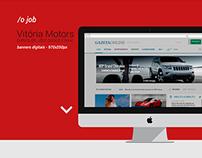 Banner Digital - Vitória Motors