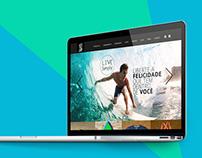 Site para loja focada mercado life style / surfwear