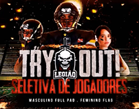 (VIDEO) Vinheta para o vídeo do Try Out Legião FA