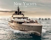 Diseño Web New yachts