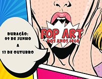 POP ART cartaz
