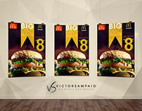 Arte de anuncio para o clássico Big Mac(Desafio VA- 24