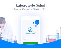 Diseño UX/UI - App mobile - Laboratorio Salud