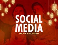 Lucca & Roberto | Social Media