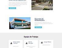 Página Web de la Constructora Elias Sialer
